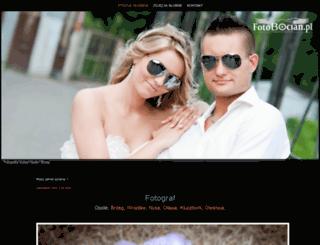 fotobocian.pl screenshot