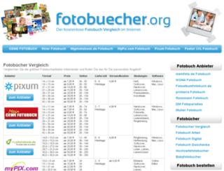 fotobuecher.org screenshot