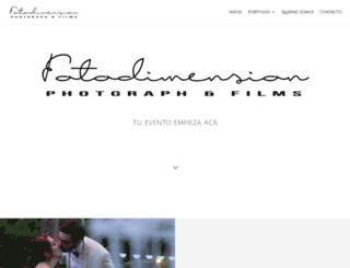 fotodimension.com.ar screenshot