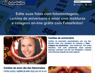 fotoefeitos.com screenshot