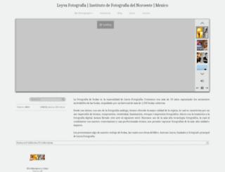 fotoleyva.zenfolio.com screenshot