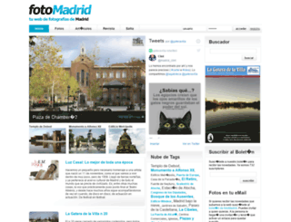 fotomadrid.com screenshot