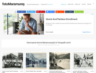 fotomaramures.ro screenshot
