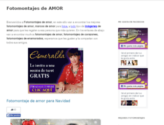 fotomontajesdeamor.net screenshot