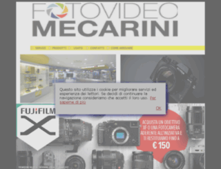 fotovideomecarini.it screenshot