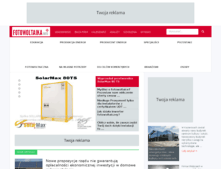 fotowoltaikainfo.pl screenshot