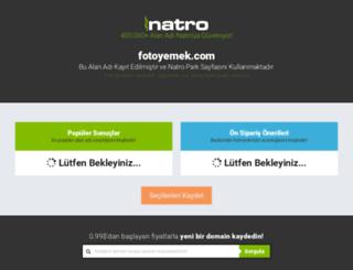fotoyemek.com screenshot