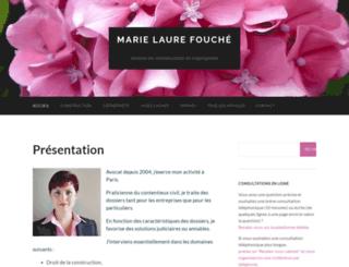 fouche-avocat.fr screenshot