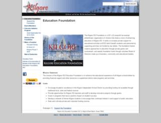 foundation.kisd.org screenshot