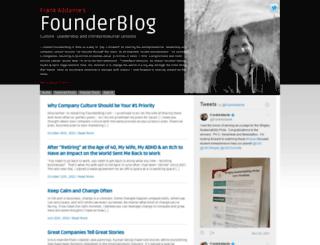 founderblog.com screenshot
