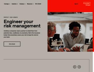 foundershield.com screenshot