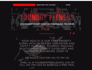 foundryfitnessmd.com screenshot