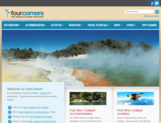 fourcorners.co.nz screenshot