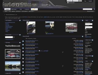 fourdoorbronco.com screenshot