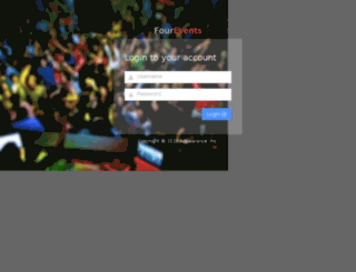 fourevents.adpearance.com screenshot