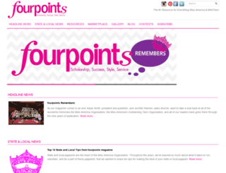fourpointsmagazine.com screenshot