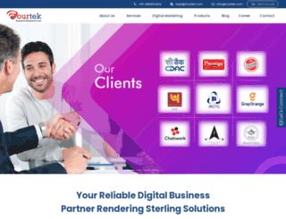fourtek.com screenshot