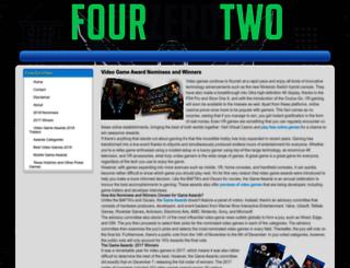 fourzerotwo.com screenshot