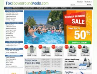 foxabovegroundpools.com screenshot