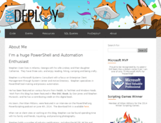 foxdeploy.azurewebsites.net screenshot