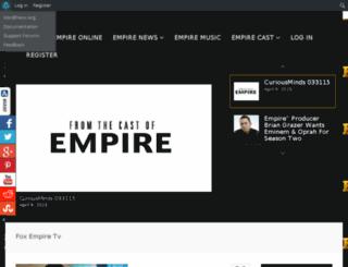 foxempiretv.com screenshot