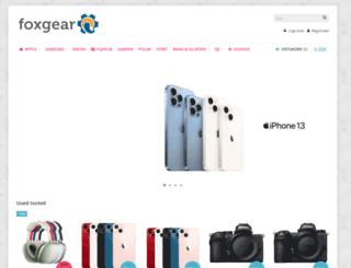 foxgear.ee screenshot