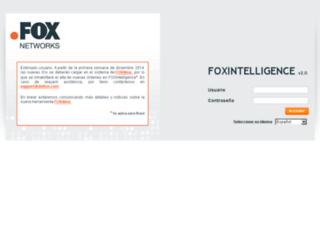foxintelligence.com screenshot