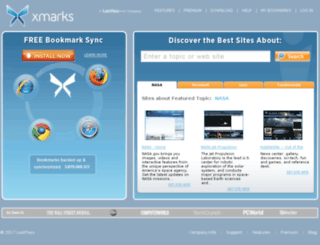 foxmarks.com screenshot
