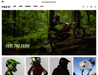 foxracing.com screenshot
