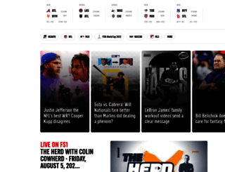 foxsportssouth.com screenshot