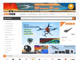 foxtechfpv.com screenshot