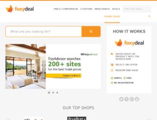 foxydeal.co.uk screenshot
