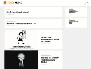 foxymind.com screenshot