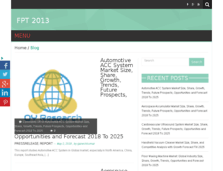 fpt2013.org screenshot