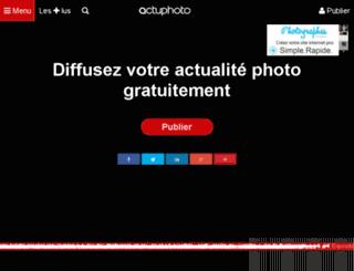 fr.actuphoto.com screenshot