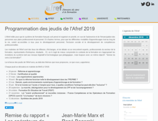 fr.afref.org screenshot