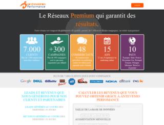 fr.antevenioperformance.com screenshot