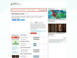 fr.cutestat.com screenshot