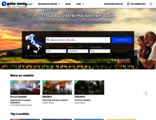fr.gate-away.com screenshot