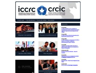 fr.iccrc-crcic.ca screenshot
