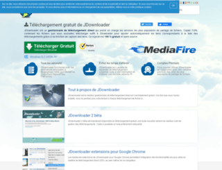fr.jdownloader.com screenshot