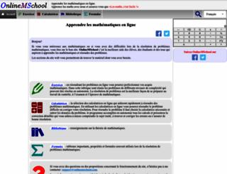 fr.onlinemschool.com screenshot