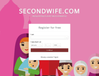 fr.secondwife.com screenshot