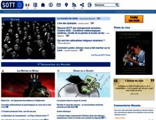 fr.sott.net screenshot