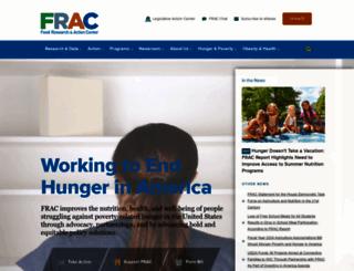 frac.org screenshot