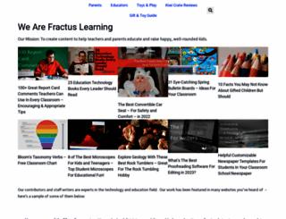 fractuslearning.com screenshot
