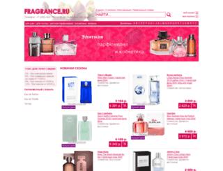 fragrance.ru screenshot