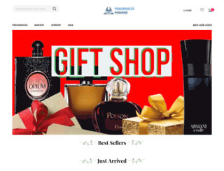 fragrancesparadise.com screenshot