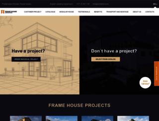 frame-house.eu screenshot