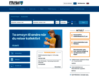 frammr.no screenshot